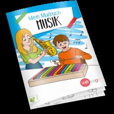 Malbuch MUSIK