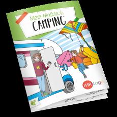Malbuch Camping