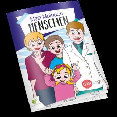 Malbuch MENSCHEN
