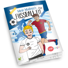Malbuch Fussball Europameisterschaft 2021 - Version 1