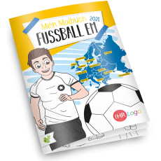 Malbuch Fussball Europameisterschaft 2021 - Version 2