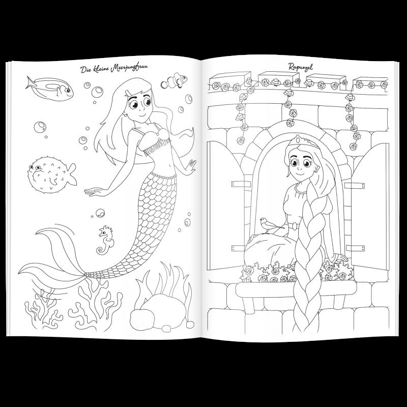 Malbuch MÄRCHEN - Werbeartikel für Kinder