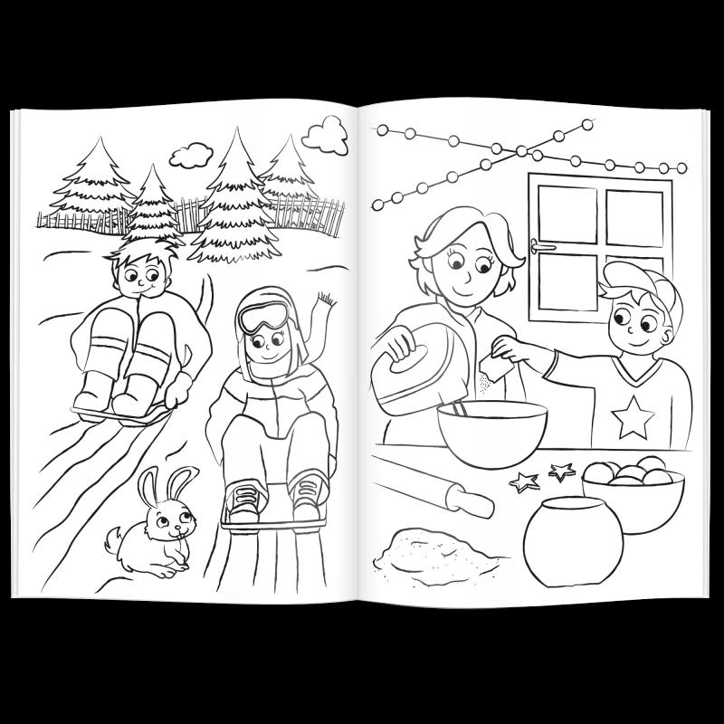 Erfreut Weihnachts Malbuch Galerie - Beispiel Wiederaufnahme ...