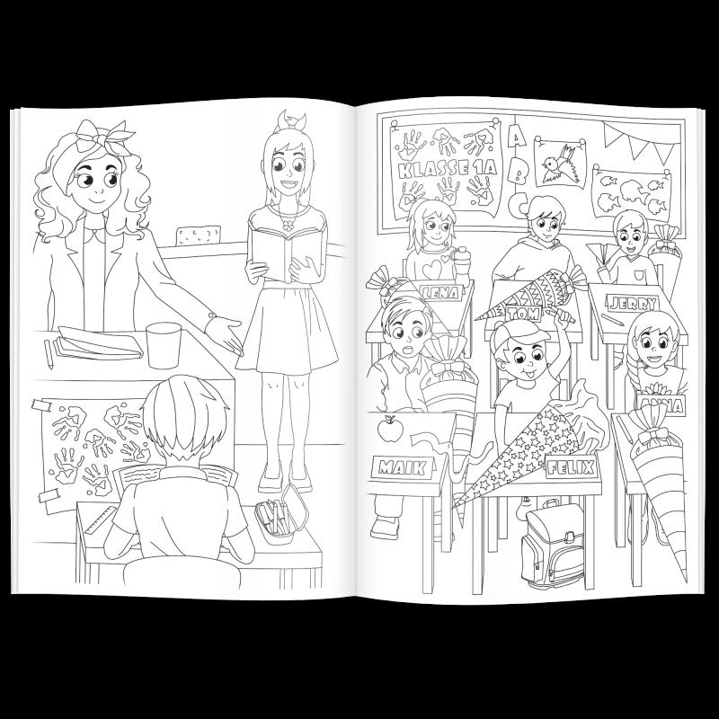 Fein Mein Malbuch Galerie - Druckbare Malvorlagen - amaichi.info