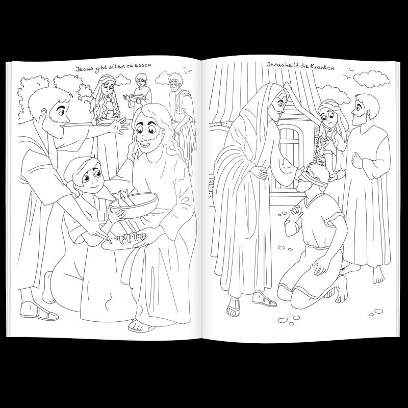 Malbuch BIBEL - Werbeartikel für Kinder