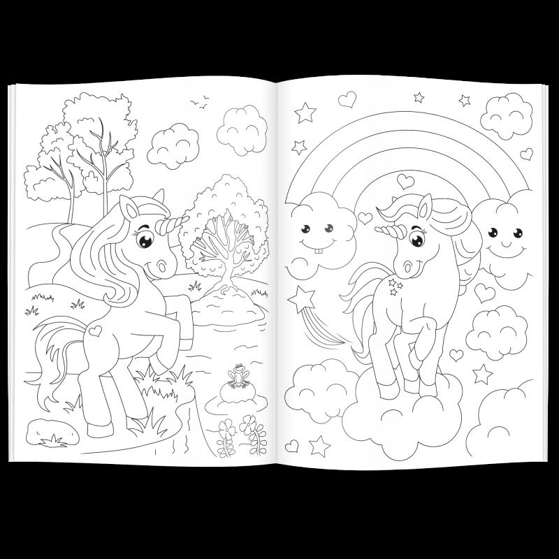 Großartig Einhorn Malbuch Zeitgenössisch - Druckbare Malvorlagen ...