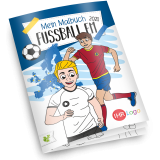 Malbuch Fussball Europameisterschaft 2020 - Version 1